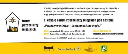Forum Pszczelarzy Miejskich