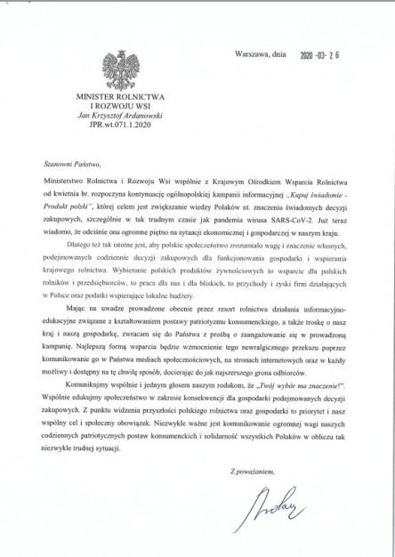 Pismo 1